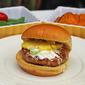 Hawaiian Aloha Chicken Burger with Pineapple Sriracha Mayo Sauce