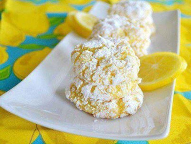 Low Fat Lemon Cookies 10