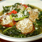 Kale Soup with Hot Italian Sausage