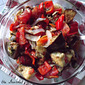 Oven Roasted Peppers and Eggplant