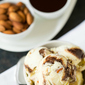Toasted Almond Fudge Ripple Ice Cream