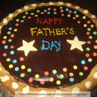 Father's Day Giant Chewy Cookie
