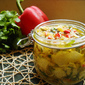 Marinated Artichoke Hearts from Scratch – with a Southwest Spin