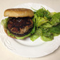 Pork and Portobello Mushroom Burgers
