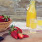 Strawberries + Homemade Limoncello = Summer Bliss