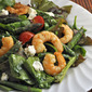 Spring Shrimp and Asparagus Salad; Disappointments