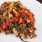 Asian Fried Quinoa - Secret Recipe Club