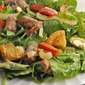 Salad with Sausages, Peppers, Lemon and Potatoes; the update