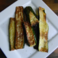 Oven Roasted Zucchini