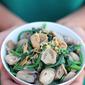 Spinach and Mushroom Stir Fry