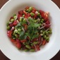 Edamame Salad with Red Bell Pepper