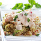 Chicken Salad with Quinoa, Mango Chutney and Avocado