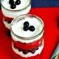 Easy Red Velvet & Blueberry Trifles