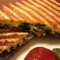 Spinach Paneer Sandwich