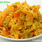 Vegetable Pulao (with tomato puree)