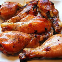 Honey Mustard Glazed Chicken Legs