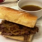 Beef Dip with Rosemary Garlic Butter