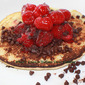 Dad's Favorite Raspberry Pancakes with Chocolate Chips Recipe