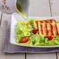 Strawberry Halloumi Salad