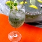 Basil Lemonade Drink