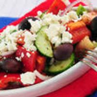 Marinated Greek Vegetable Salad #2