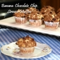 Banana Chocolate Chip Cinnamon Streusel Muffins