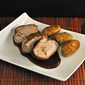 Brined, Barbecued Pork Tenderloin; French relations