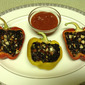 Black Rice Stuffed Peppers