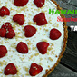 Hawaiian Strawberry Tart #CanadaDay