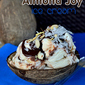 Homemade Almond Joy Ice Cream – No Machine Needed!