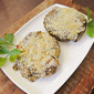 Crab-Stuffed Portobello Mushroom Caps Featuring Spicy Hidden Valley Ranch