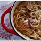 Chicken and Camembert Pasta Blanc