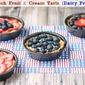 Fresh Fruit and Cream Tarts (Dairy Free)