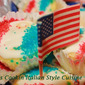 Patriotic Red White And Blue Cupcake Tribute Recipe
