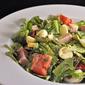 Ham, Asparagus and Mozzarella Salad; it's organic!