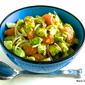 Avocado, Mandarin Orange and Jicama Salad with Key Lime Dressing