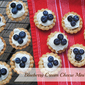Blueberry Cream Cheese Mini Tarts