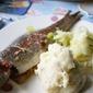 Trout and Horseradish Fishcakes