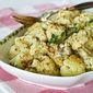 Roasted Cauliflower with Lemon Pepper