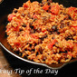 Chorizo Black Beans and Rice