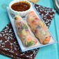 Vegetarian Summer Rolls (Vegetarian Vietnamese Rolls)