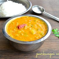 Peerkangai Oorpu Recipe | Ridge Gourd (Turai) Dal Recipe