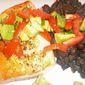 Pan-Seared Salmon with Tomato-Avocado Relish