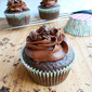 Triple Chocolate Nutella Cupcakes For Two