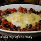 Chorizo Black Beans and Eggs