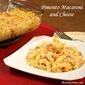 Pimento Macaroni and Cheese