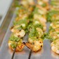Clean Eating Barbecued Shrimp With Cilantro Pesto