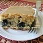BLUEBERRY BANANA CAKE WITH CARAMEL FROSTING