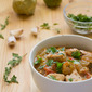 Tart Summer Pork Stew with Tomatoes and Tomatillos Recipe (sponsored post)
