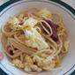 Breakfast Spaghetti for Secret Recipe Club